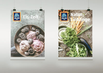 Grafikdesign ALDI Süd